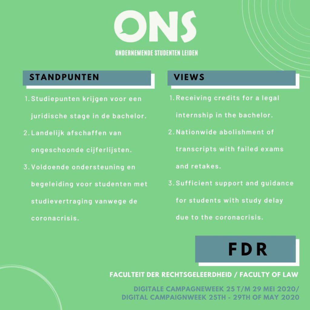 standpunten FDR