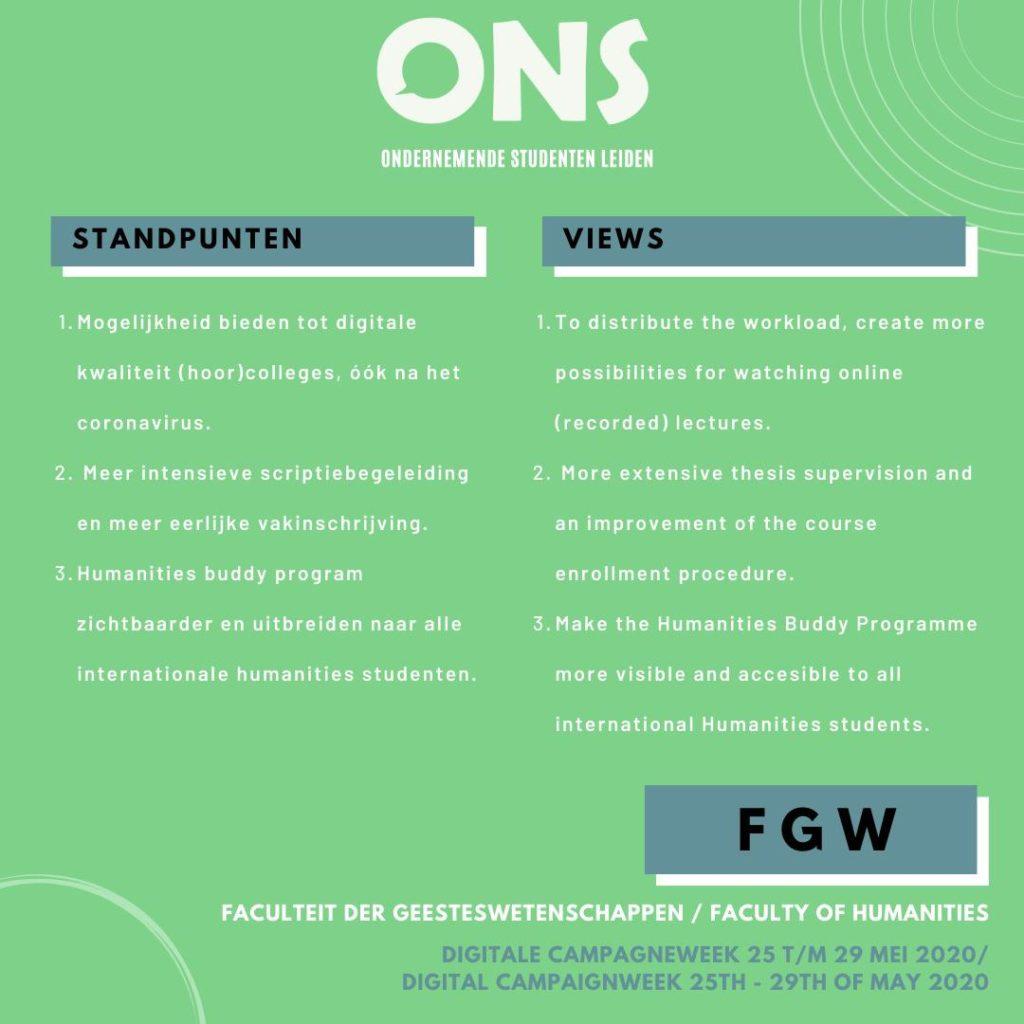 standpunten FGW