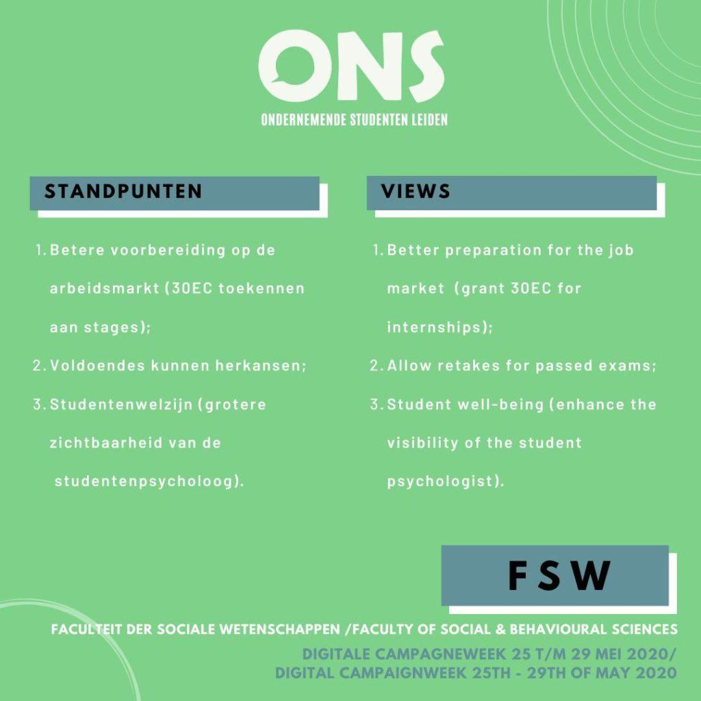 standpunten FSW